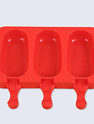 Hot DIY Pop Mold Popsicle Maker Lolly Freezer Tray Pan Frozen Ice Cream Mould