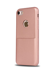 For Apple iPhone 7 7 Plus 6S 6 Plus SE 5S 5 Case Cover Card Cool Series PU Material Imitation Leather Can Be Card Drop Phone Case