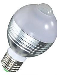 5W Smart LED Glühlampen A60(A19) 10 SMD 5730 450 lm Warmes Weiß Kühles Weiß Menschlicher Körper Sensor V 1 Stück