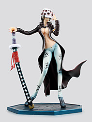 Figures Animé Action Inspiré par One Piece Trafalgar Law PVC 20 CM Jouets modèle Jouets DIY