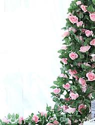1 Филиал Шелк Розы Цветы на стену Искусственные Цветы