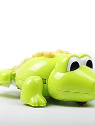 Brinquedo de Água Brinquedo de Banho Crocodilo Plásticos