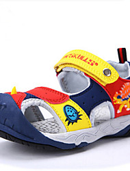 Boys Beach Sandals Boys Summer Sneakers Kids Shoes 3D Dinosaur Factional Shoes