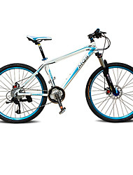 Mountain Bike Cycling 27 Speed 26 Inch/700CC BB5 Disc Brake Suspension Fork Aluminium Alloy Frame Hard-tail FrameAnti-slip Aluminium