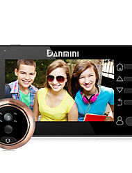 Danmini YB-43CHD-M 4.3inch Color Screen No Disturb Peephole Viewer Camera Door Eye Video Record IR Night Vision