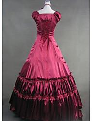One-Piece/Dress Sweet Lolita Lolita Cosplay Lolita Dress Vintage Cap Sleeveless Floor-length Dress For Other