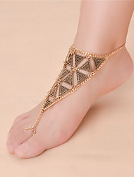 Women's Anklet/Bracelet Alloy Fashion Vintage Infinity Silver Gold Women's Jewelry For Daily Casual 1pc