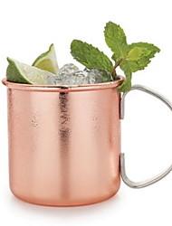 Al Coperto Regalo Bachelor Party Casual Da party/cocktail Serata Bar Articoli per bevande, 380 Metallico Rame Champagne SmoothieCoppe
