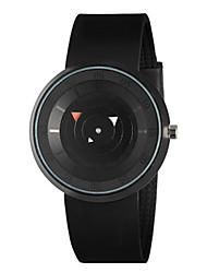 Men's Fashion Watch Digital Watch Digital Silicone Band Black White