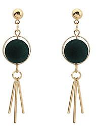 Women's Stud Earrings Drop Earrings Hoop Earrings JewelryBasic Unique Design Logo Style Tassel Friendship Elegant Sideways Multi-ways
