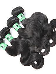 Ciocche a onde capelli veri Malese Ondulato naturale 18 mesi 4 pezzi tesse capelli