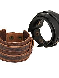 Муж. Жен. Кожаные браслеты Бижутерия Природа Мода бижутерия Кожа Сплав Бижутерия Назначение Особые случаи Спорт