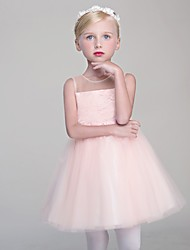 Princess Short / Mini Flower Girl Dress
