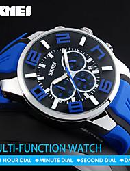 SKMEI  Quartz Wristwatches Fashion Sport Stop Watch Auto Date 30M Waterproof Clocks Relogio Masculino Male Brand Watches