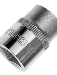 Bouclier en acier 19 mm série métrique 12 angle manchon standard 21 mm / 1 support