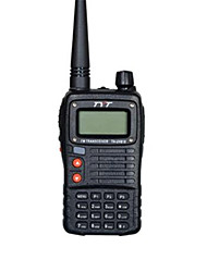 Teléfono móvil radio tyt th-uv818 walkie talkie 5w vhfuhf 128 memoria ch fm radio de doble banda de visualización de radio portátil