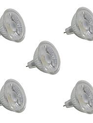 5W LED High Power Spotlight MR16/GU5.3 COB 380-420 Lm White/Warm White AC220-240V 5Pcs