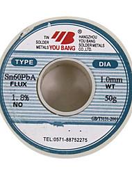 Aia série de fil de soudure active sn60pba-1.0mm-50g / bobine
