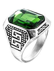 Männer Ring Smaragd einzigartigen Design euramerican Mode Zirkon Smaragd Legierung Schmuckschmuck 147 Hochzeit besonderen Anlass Jubiläum