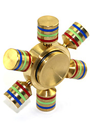 Fidget Spinner Inspiré par One Piece Monkey D. Luffy Manga Accessoires de Cosplay Chrome