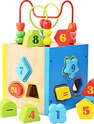 Costruzioni per il regalo Costruzioni Modellino e gioco di costruzione Quadrata Legno Da 2 a 4 anni Da 5 a 7 anni Giocattoli