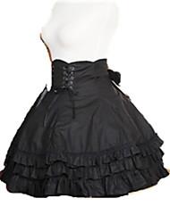 Jupe Gothique Princesse Cosplay Vêtrements Lolita Autres Court / Mini Jupe Pour