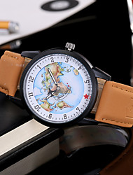 Women Fashion Wristwatch Unique Creative Casual Cool World Map Ladies Watches Quartz Leather Band Charm Luxury Female Relogio Feminino Watch Jewelry