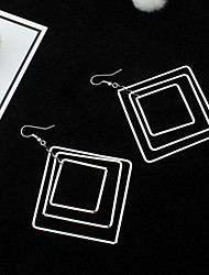 Drop Earrings Women's Girls' Euramerican Contracted Exaggerated Personality  More Square Cut  Earrings Daily Party Office & Career Movie Gift  Jewelry