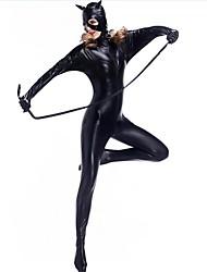 Collants Costumes de Cosplay Superhéros Ninja Assassin Fête / Célébration Déguisement d'Halloween Couleur PleineCollant/Combinaison Plus