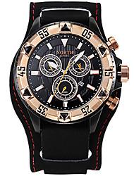 Homens Adolescente Relógio Esportivo Relógio Militar Relógio Elegante Relógio de Moda Relógio de Pulso Bracele Relógio Único Criativo
