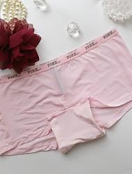 Leopard Seamless Panties Boxers Underwear,Cotton