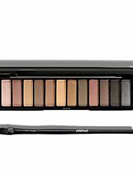 12 Paleta de Sombras Secos Paleta da sombra Maquiagem para o Dia A Dia