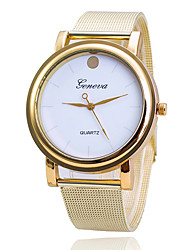 Men's Dress Watch Fashion Watch Japanese Quartz Alloy Band Charm Casual Elegant Gold