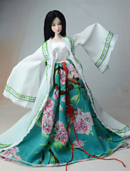 Dress For Barbie Doll Coat Dress For Girl's Doll Toy