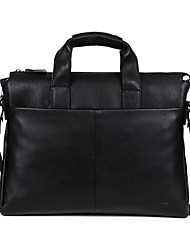Cowhide  Men Briefcare Brand High Quality Men's Business Handbags Two Color Real Leather Soft Men Laptop Bag D9313-5