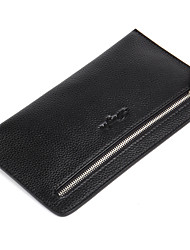 Men Wallets Cowhide Male Clutch Phone Bag Fashion Brand Coin Pocket Luxury Cowskin Business Handy Bag PurseD8096