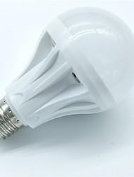 1pcs 7w e27 lampe capteur de mouvement 500-600lm 30smd 2835 blanc froid blanc lumière intelligente contrôle led ampoules ac220-240v