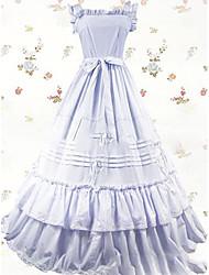 One-Piece/Dress Sweet Lolita Lolita Cosplay Lolita Dress Vintage Cap Floor-length Dress For Other