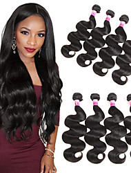 Remy Body Wave Hair Style Brazilian Body 4 Bundles 100% Human Hair Bundles Weave Brazilian Virgin Hair Body Wave 400g/Set