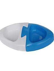 Cat Dog Dogers Pet Bowls& Alimentation rouges portatives bleu rose