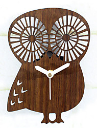 Antique Retro Office/Business Animals Wall Clock,Animals Wooden Indoor Clock