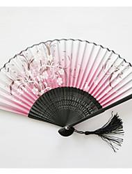 Gentle Breeze Sakura Butterfly Fan With Random Pattern 1 PCS Per Order