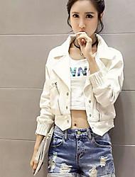 Women's Jacket Shirt Collar Long Sleeve