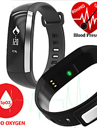 Smart Bracelet Blood Pressure/Blood Oxygen/Heart Rate Monitor Fitness Tracker Touchpad Sports Wristband Watch for Android iOS