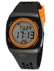 Men's Fashion Watch Digital Watch Digital Plastic Band Black Blue