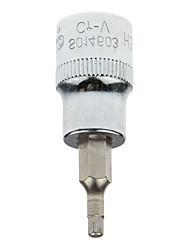 Bouclier en acier 10 mm série métrique six angles manchon télescopique h3 / 1