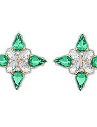 Women's Stud Earrings Drop Earrings Hoop Earrings Imitation DiamondBasic Unique Design Logo Style Friendship Classic Sideways Elegant