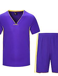 Муж. С короткими рукавами Бег Наборы одежды Багги Шорты Велоспорт