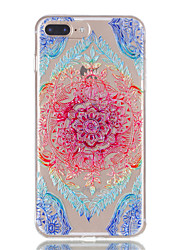 Pour iphone 7plus 7 tpu matériel en dentelle motif de fleurs sacoche de téléphone 6s plus 6plus 6s 6 se 5s 5