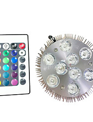 9W Lampes Horticoles LED 9 LED Haute Puissance 450 lm RVB V